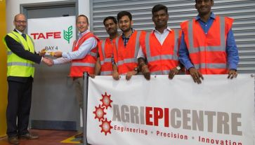 New Collaboration for Agri-EPI Centre.